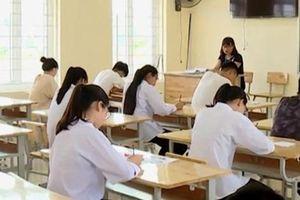 Kiểm tra mọi khu vực trong điểm thi, kể cả phòng vệ sinh để phòng gian lận thi cử