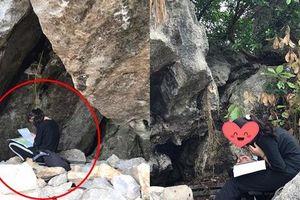 Hình ảnh nữ sinh ngồi trong khe núi ôn bài gây xôn xao MXH và loạt ảnh dở khóc dở cười của sĩ tử trước ngày thi