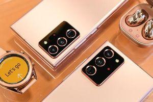 Trên tay đồng hồ Samsung Galaxy Watch 3 và tai nghe không dây chống ồn 'hạt đậu' Galaxy Buds Live