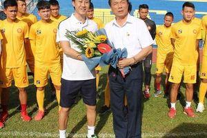 HLV Thanh Hóa: 'Đó là tuyên bố của lãnh đạo, đội bóng vẫn tập bình thường'