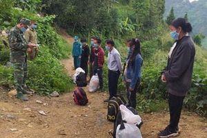 Hà Giang: Ngăn chặn 6 người nhập cảnh trái phép từ Trung Quốc