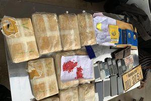Liên tiếp phá 2 vụ vận chuyển ma túy số lượng lớn, xuyên quốc gia