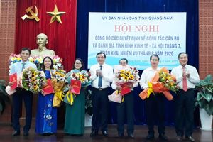 Quảng Nam, Nghệ An, Thanh Hóa điều động, bổ nhiệm nhân sự mới