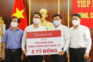 Ủng hộ 8,3 tỷ đồng giúp Quảng Nam phòng, chống dịch Covid-19