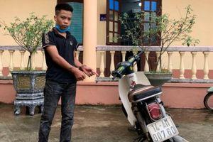 Tạm giữ hình sự nam thanh niên 17 tuổi đi xe máy tông gãy chân Đại úy CSGT