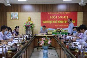 Quảng Bình lên phương án đảm bảo tốt nhất cho kỳ thi tốt nghiệp THPT