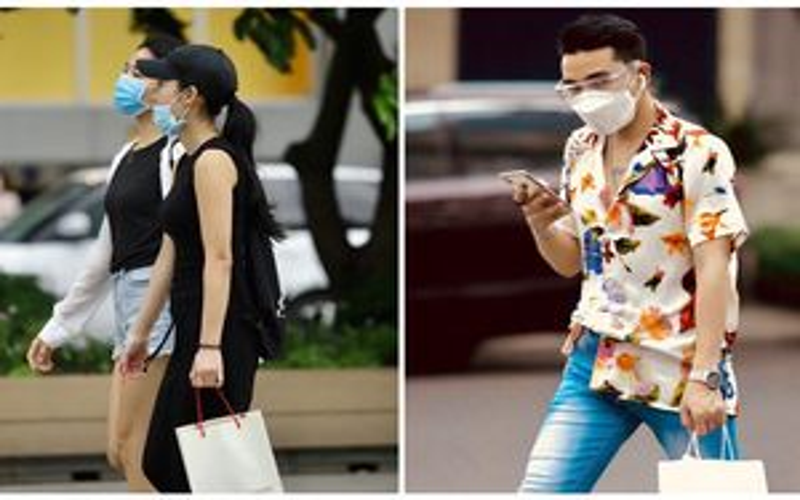 Giới trẻ Sài Gòn kín mít khẩu trang xuống phố, mua sắm hay 'sống ảo' đều nhanh chóng, đề cao cảnh giác