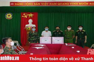 Bộ CHQS tỉnh Thanh Hóa động viên cán bộ, chiến sỹ làm nhiệm vụ tại khu cách ly tập trung