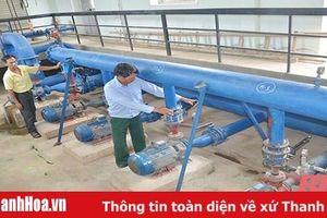 Nhà máy nước sạch Hậu Lộc sản xuất, kinh doanh gặp nhiều khó khăn