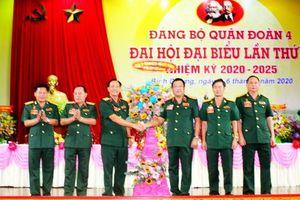 Đại hội Đảng bộ Quân đoàn 4 lần thứ X, nhiệm kỳ 2020-2025