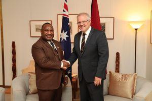 Australia thúc đẩy xây dựng căn cứ hải quân tại Papua New Guinea