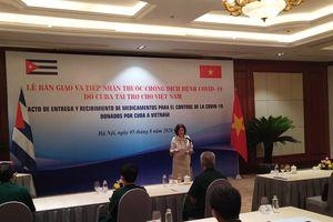 Cuba tặng thuốc chống COVID-19 cho Việt Nam