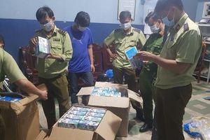 Phát hiện gần 75.000 chiếc khẩu trang có dấu hiệu vi phạm tại An Giang