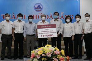 Agribank ủng hộ 8 tỉ đồng giúp miền Trung chống dịch COVID-19