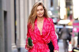Mặc đồ ngủ ra đường đẹp như Gigi Hadid, Selena Gomez