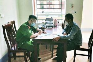 Nghệ An: Không hợp tác khai báo y tế, người đàn ông bị phạt 1 triệu đồng