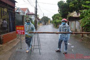 Thái Bình phong tỏa khu dân cư, cách ly 118 người