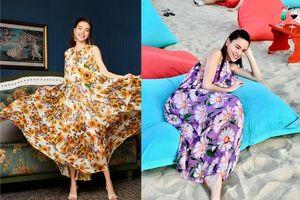 'Nể phục' phong cách thời trang giấu bụng bầu của Hà Hồ