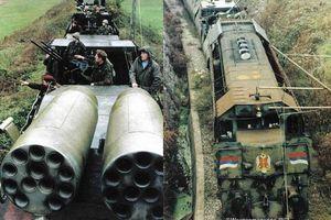 Tàu bọc thép Krajina Express gieo rắc kinh hoàng một thời, nay còn lại gì?