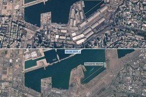 Ảnh vệ tinh trước và sau vụ nổ khiến 300.000 người mất nhà ở Beirut