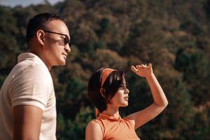 BTV Thu Hoài khoe ảnh tình tứ bên bạn trai tại sân golf