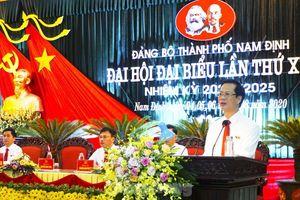 Ông Nguyễn Anh Tuấn được bầu làm Bí thư Thành ủy Nam Định