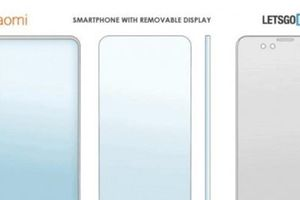 Xiaomi chuẩn bị ra mắt điện thoại màn hình chất lượng có thể tháo rời