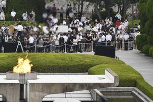 Nhật Bản tưởng niệm 75 năm ngày Mỹ ném bom xuống Hiroshima