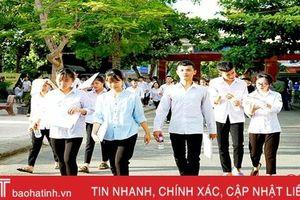 Hơn 78,5% thí sinh ở Hà Tĩnh chọn tổ hợp khoa học xã hội