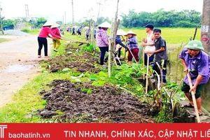 Lộc Hà huy động 123,8 tỷ đồng xây dựng nông thôn mới