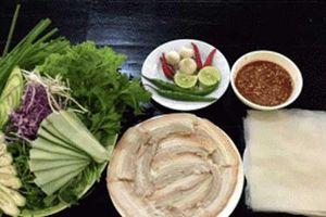 Cách làm món bánh tráng cuốn thịt heo ngon chuẩn vị Đà Nẵng