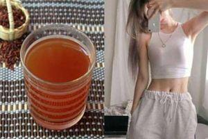 Uống 1 cốc nước gạo lứt rang mỗi ngày giúp giảm cân, đẹp da, chị em nên thử ngay