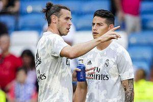 Bale và James bị gạch tên ở trận đấu với Man City