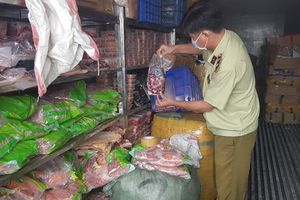 Phát hiện 5 container thực phẩm ôi thiu sắp tuồn ra thị trường