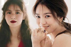 Không còn đánh mắt thâm xì như phim kinh dị, Song Hye Kyo trang điểm nhạt là nhìn ngất ngây