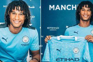 Nathan Ake chính thức gia nhập Manchester City