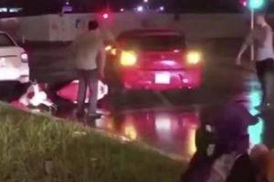Xác định tài xế xe điên lùi trúng nhiều phương tiện rồi bỏ chạy tại Hà Đông