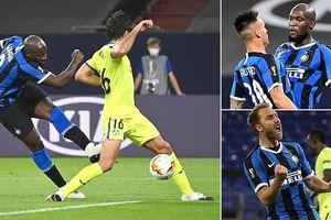 Romelu Lukaku đưa Inter Milan nối gót MU vào tứ kết Europa League