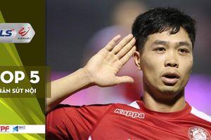 Công Phượng và top 5 chân sút nội hàng đầu V-League 2020