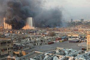 Lebanon bác bỏ tin đồn Israel có liên quan trong vụ nổ ở Beirut