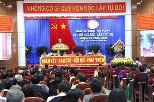 Ông Trịnh Duy Thuân tái đắc cử Bí thư Thành ủy Pleiku, Gia Lai