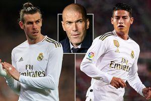 Gareth Bale và James Rodriguez lĩnh 'án trảm' ở trận gặp Man City