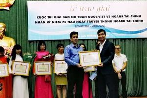 Báo Đầu tư đoạt Giải A giải báo chí toàn quốc viết về ngành tài chính