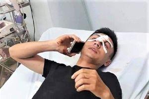Yêu cầu báo cáo nghi vấn CSGT Hà Nội đánh nam thanh niên chảy máu mũi