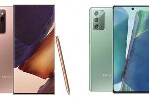 Samsung chính thức giới thiệu bộ đôi sản phẩm chủ lực Galaxy Note20 và Galaxy Note20 Ultra