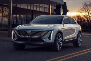 Cadillac Lyriq ra mắt - lưới tản nhiệt phát sáng, màn hình 33 inch