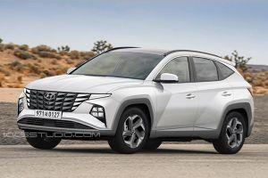Hyundai Tucson 2021 lộ diện trước ngày ra mắt, cạnh tranh Mazda CX-5
