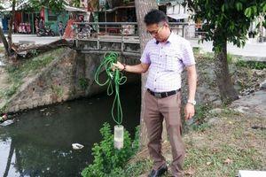 Chất lượng nước trên hệ thống thủy lợi Tả Trạch kém