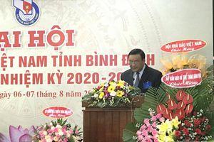 Ông Đỗ Nguyên Hùng tái đắc cử Chủ tịch Hội Nhà báo tỉnh Bình Định