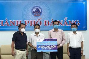 Nhiều địa phương, doanh nghiệp ủng hộ Đà Nẵng, Quảng Nam, Quảng Ngãi chống dịch